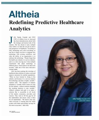 Altheia mentioned in Industry-TechOutlook
